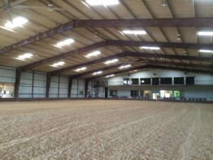 Indoor Arena at Whispering Farms Equestrian Center